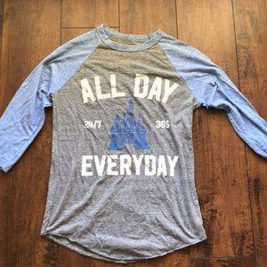 Disney baseball t shirt